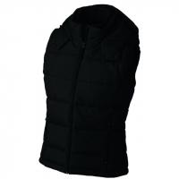 Dámská zimní vesta s kapucí