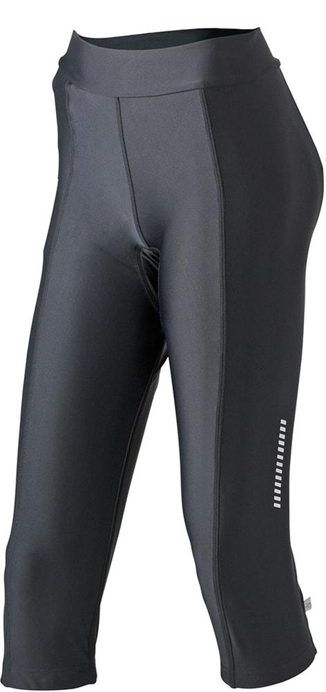 Dámské cyklistické kalhoty s vložkou JN463 - Černá | XL