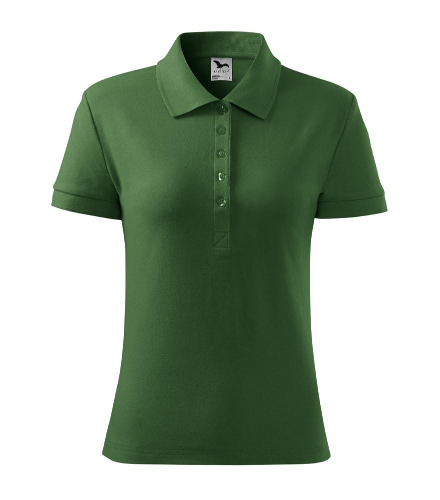 Dámská polokošile Cotton - Lahvově zelená | M