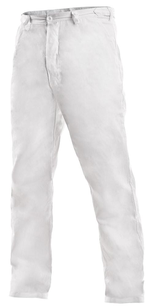 Pánské bílé pracovní kalhoty ARTUR - 62