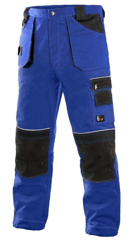 Montérkové kalhoty ORION TEODOR - Modrá / černá | 62
