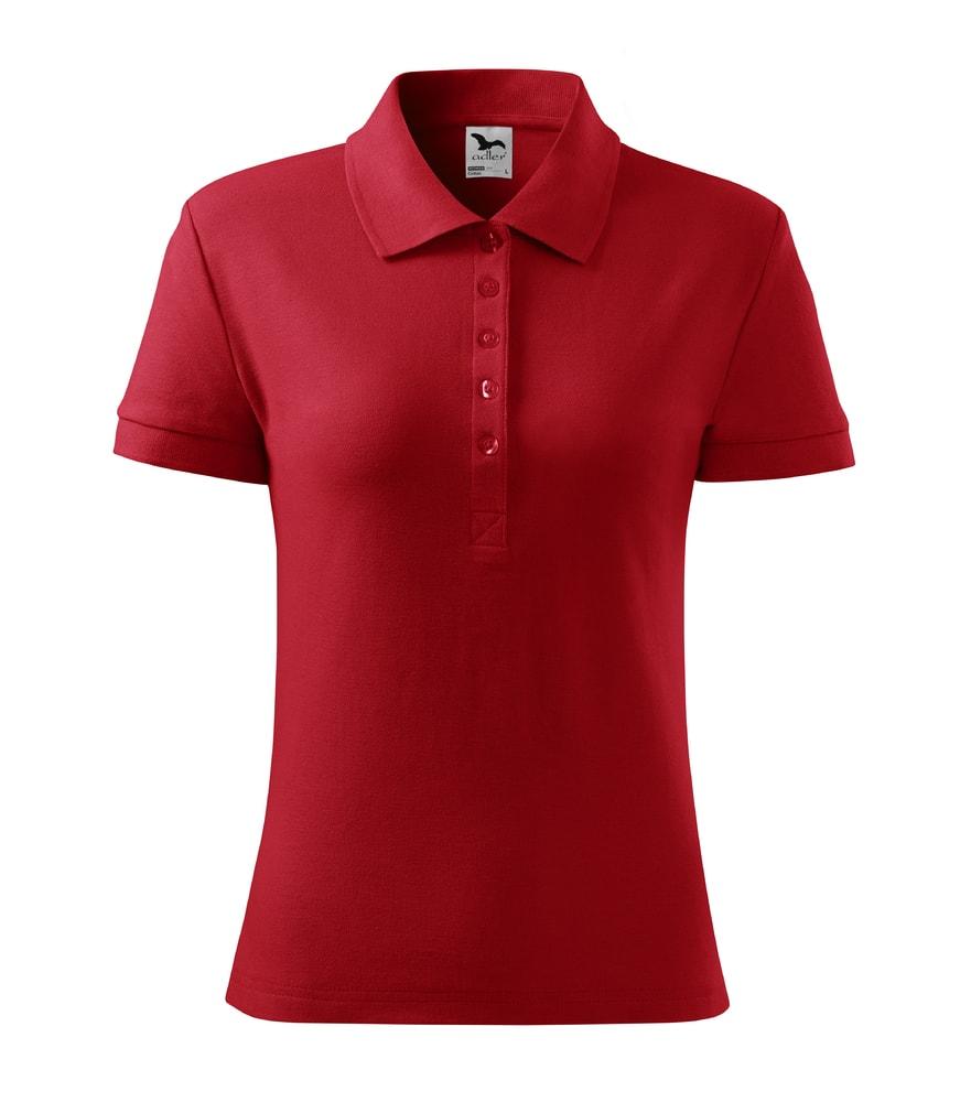 Dámská polokošile Cotton - Červená | M