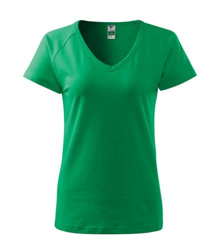 Dámské tričko Dream - Středně zelená | L