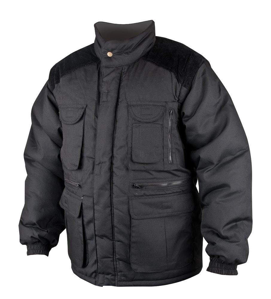 Zimní pracovní bunda Danny - Černá | L