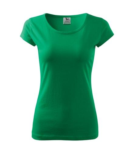Dámské tričko Pure - Středně zelená | L