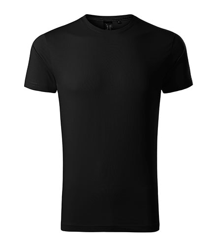 Pánské tričko Malfini Exclusive - Černá | M