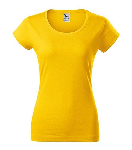 Dámské tričko Viper - Žlutá | S
