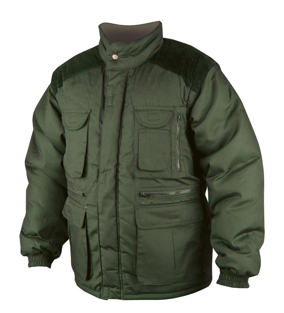 Zimní pracovní bunda Danny - Zelená | L