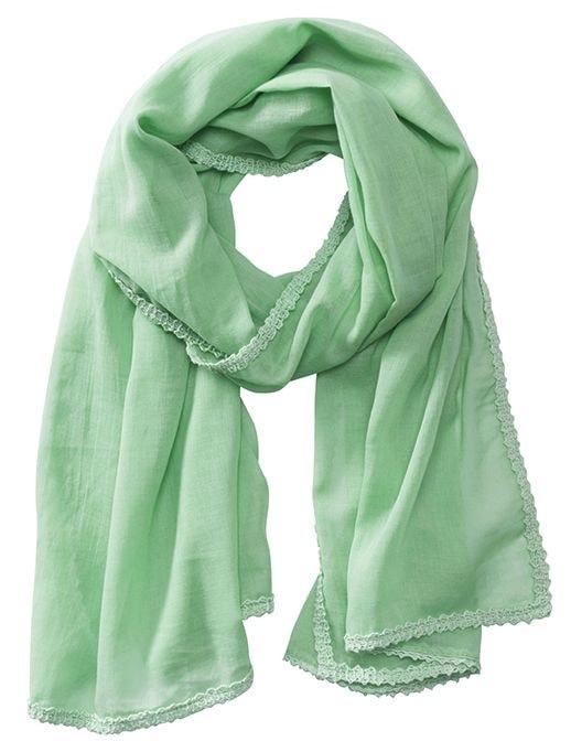 Bavlněná šála MB6404 - Jemně zelená