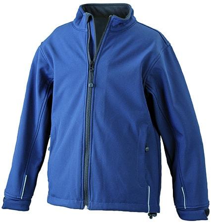 Dětská softshellová bunda JN135k - Tmavě modrá | L