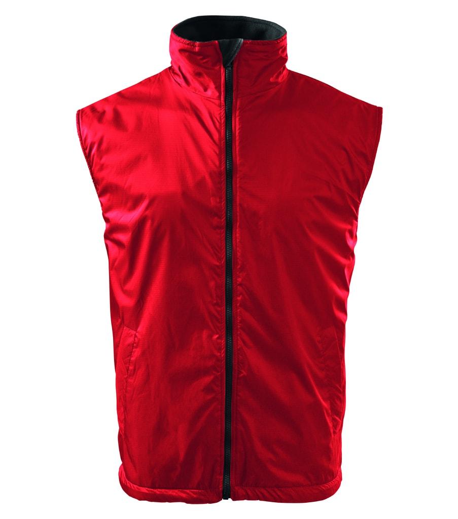 Pánská vesta Body Warmer - Červená   XXL