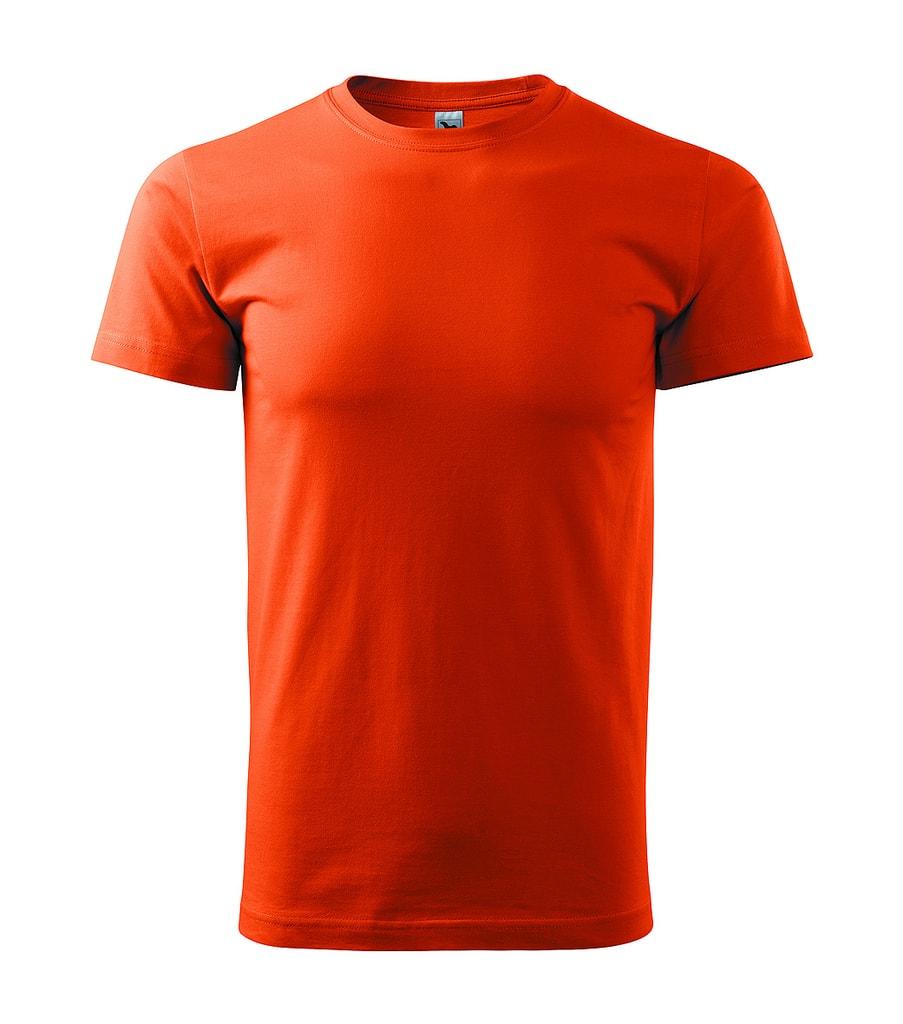 Pánské tričko HEAVY - Oranžová | XXL