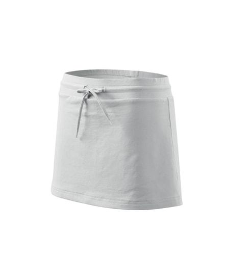 Dámská sukně Two in one - Bílá | S