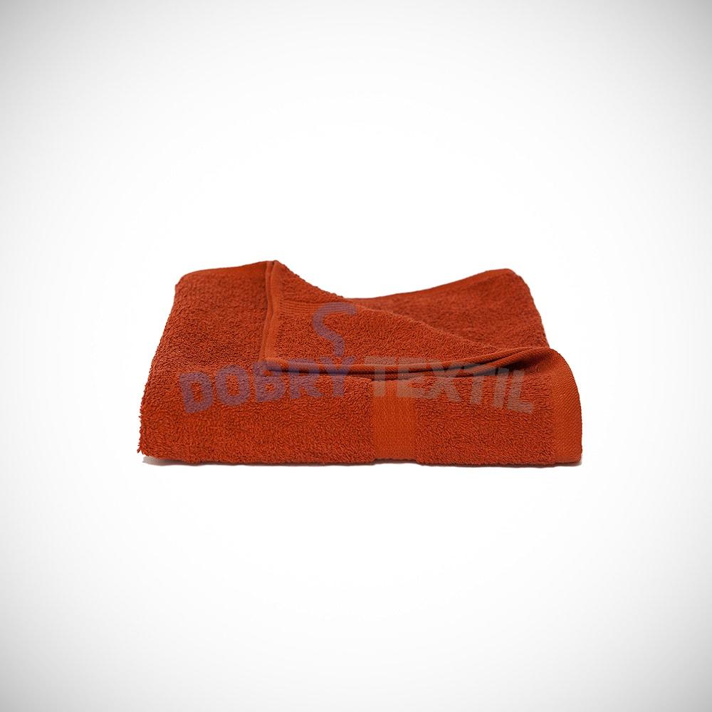 Reklamní ručník 50x100 - Cihlová | 50 x 100 cm