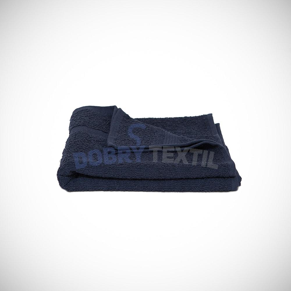 Reklamní osuška 70x140 - Tmavě modrá | 70 x 140 cm
