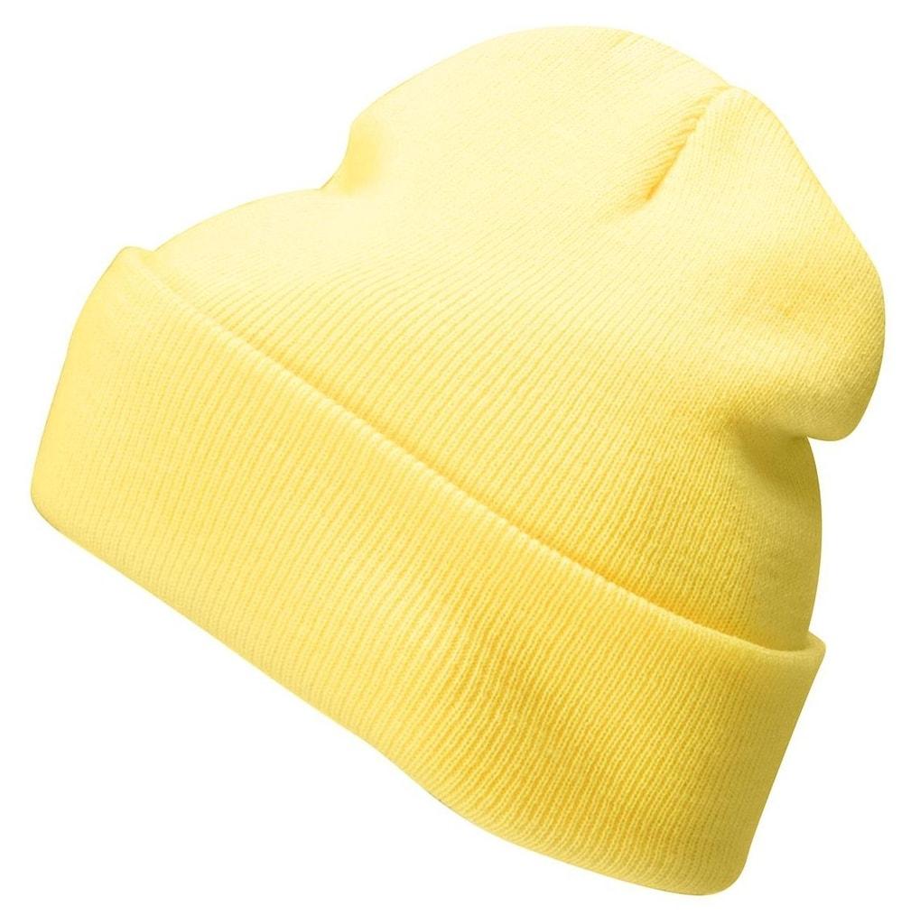 Zimní čepice Classic MB7500 - Žlutá