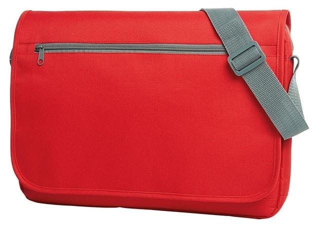Moderní taška přes rameno SOLUTION - Červená