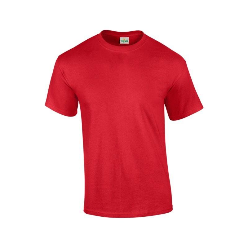 Pánské tričko ECONOMY - Červená | XXXL