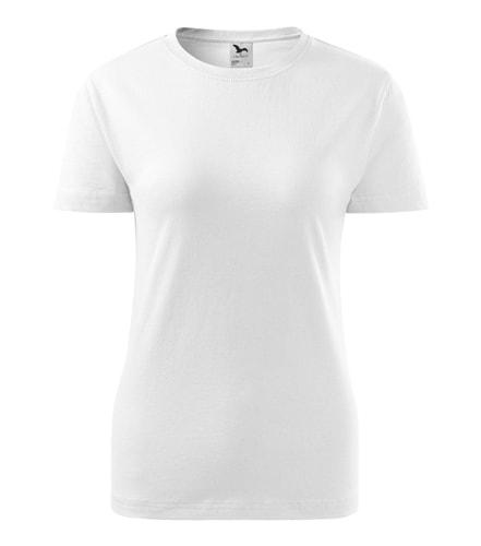 Dámské tričko Basic - Bílá | XL