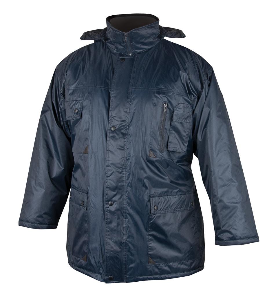 Zimní pracovní bunda BC 60 - Modrá | XL