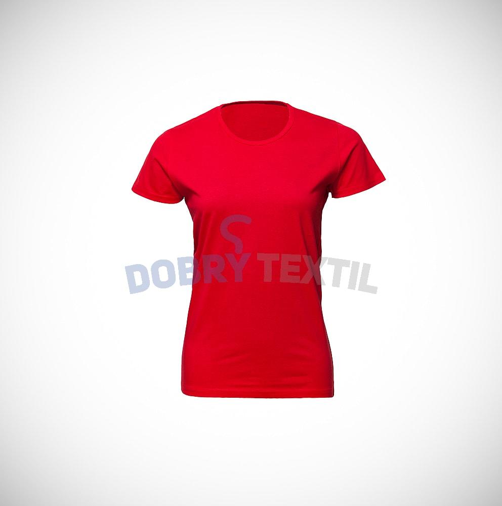 Dámské tričko SLIM - Červená | S