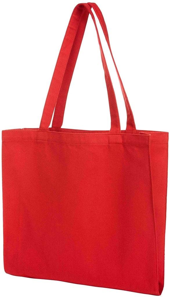 Bavlněná nákupní taška MALL - Červená