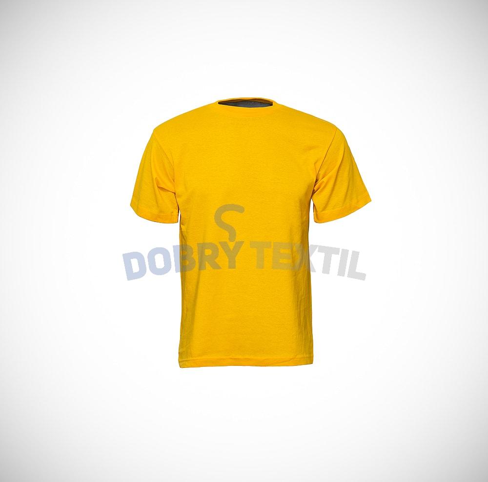 Dětské tričko CLASSIC - Žlutá | 86