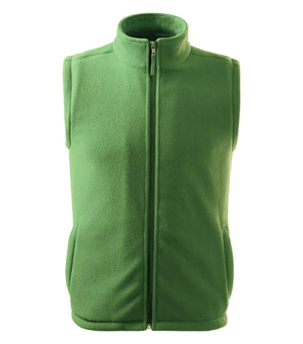 Fleecová vesta Adler - Trávově zelená | XXL