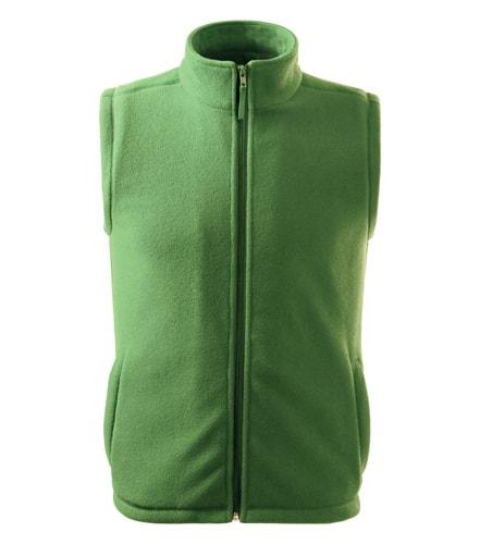 Fleecová vesta Adler - Trávově zelená | XXXL