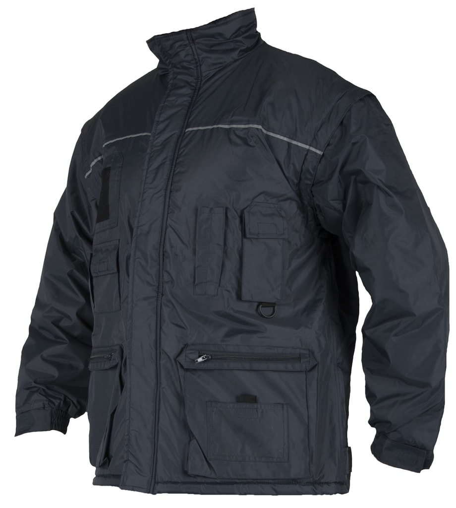 Zimní pracovní bunda Lino - Modrá | XXL