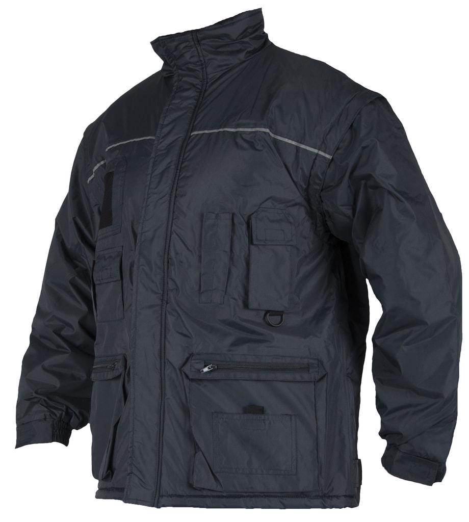 Zimní pracovní bunda Lino - Modrá | XXXL