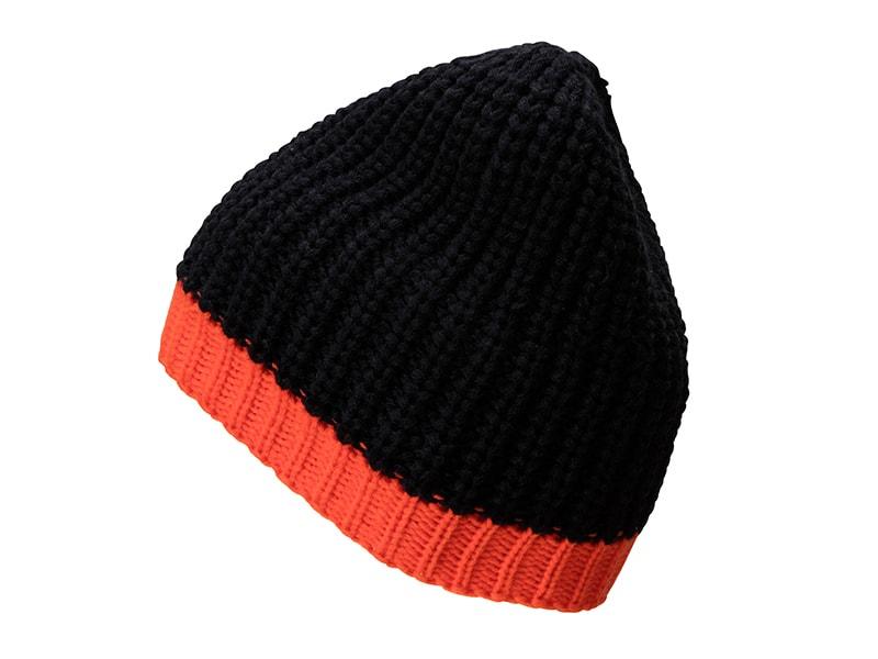 Zimní čepice MB7103 - Černá / grenadina