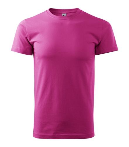 Pánské tričko HEAVY - Purpurová | S