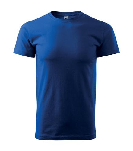 Pánské tričko Basic - Královská modrá | XXXXL