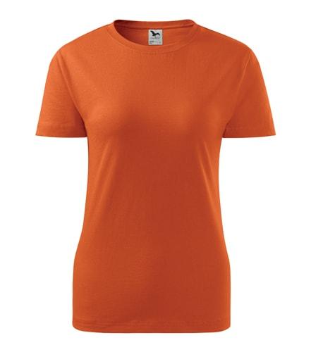 Dámské tričko Basic Adler - Oranžová | M