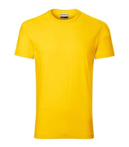 Pánské tričko Resist heavy - Žlutá | XXXXL