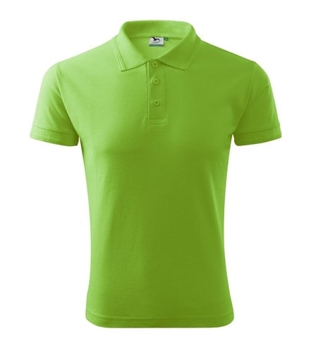 Pánská polokošile Pique Polo - Apple green | L