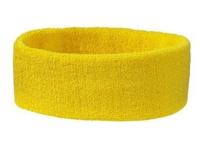 Sportovní čelenka MB042 - Zlatě žlutá