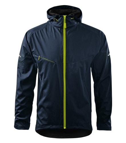 Adler Ľahká pánska softshellová bunda COOL - Námořní modrá | XXXL