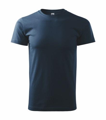 Pánské tričko HEAVY - Námořní modrá | XL