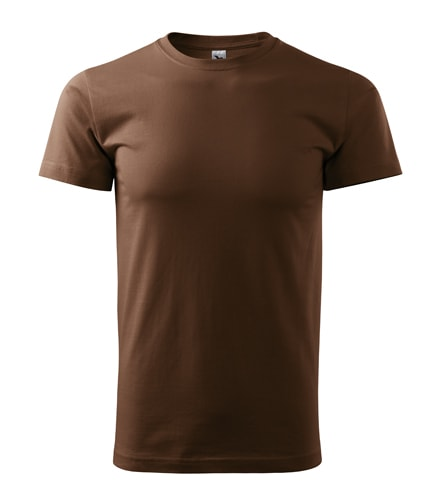 Pánské tričko HEAVY - Čokoládová | XXL