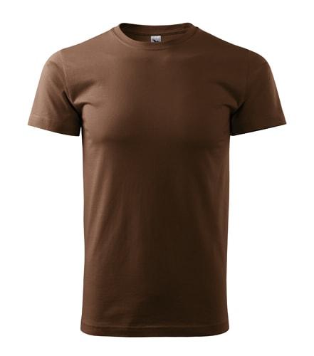 Pánské tričko HEAVY - Čokoládová | XXXL