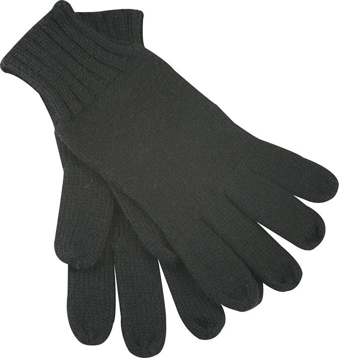 Myrtle Beach Pletené rukavice MB505 - Černá | L/XL