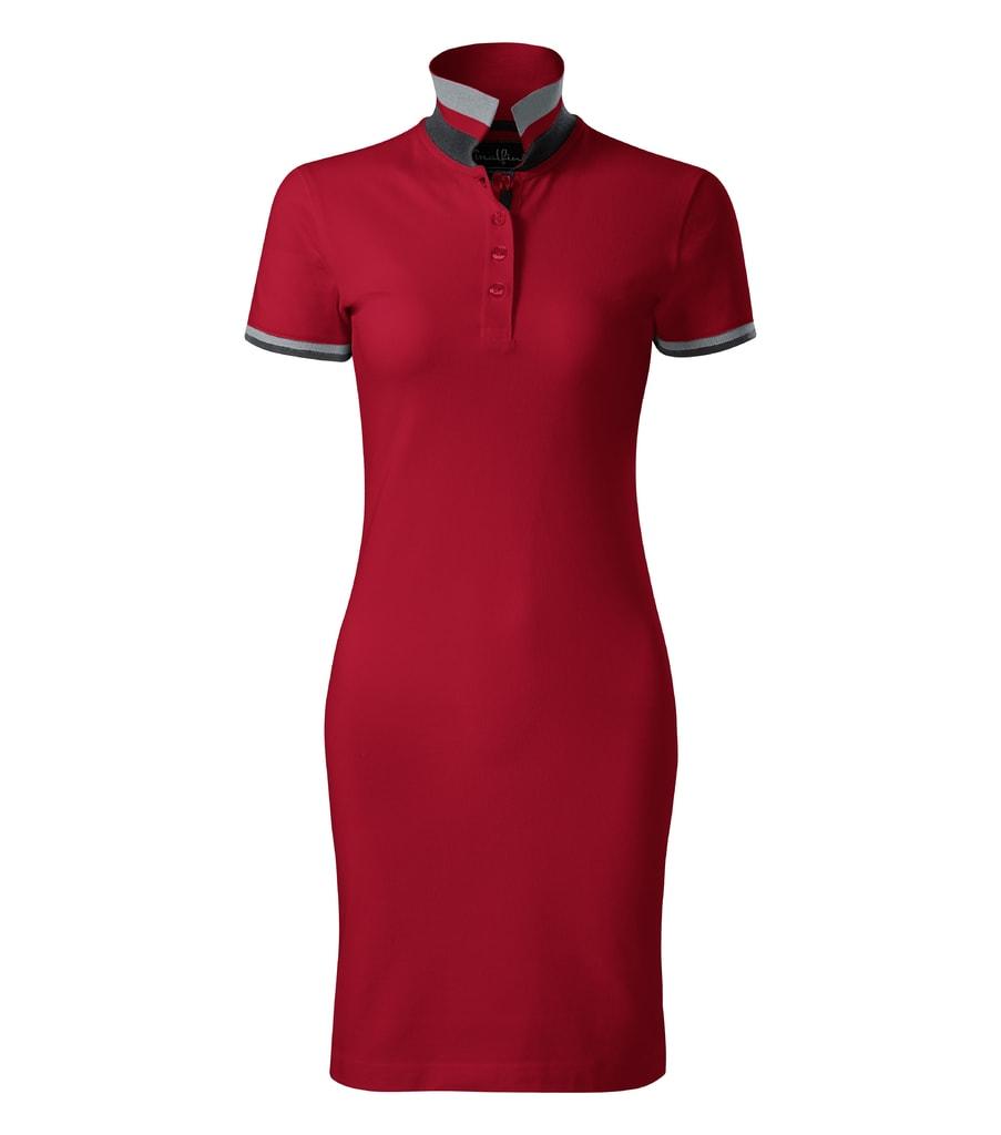 Adler Dámske bavlnené šaty Adler - Jasná červená | XL
