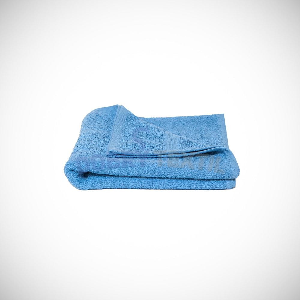 Reklamní osuška 70x140 - Světle modrá | 70 x 140 cm