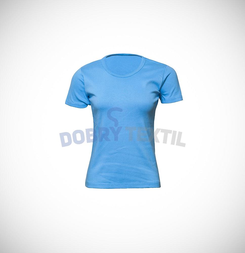 Dámské tričko ELAST - Světle modrá | XL