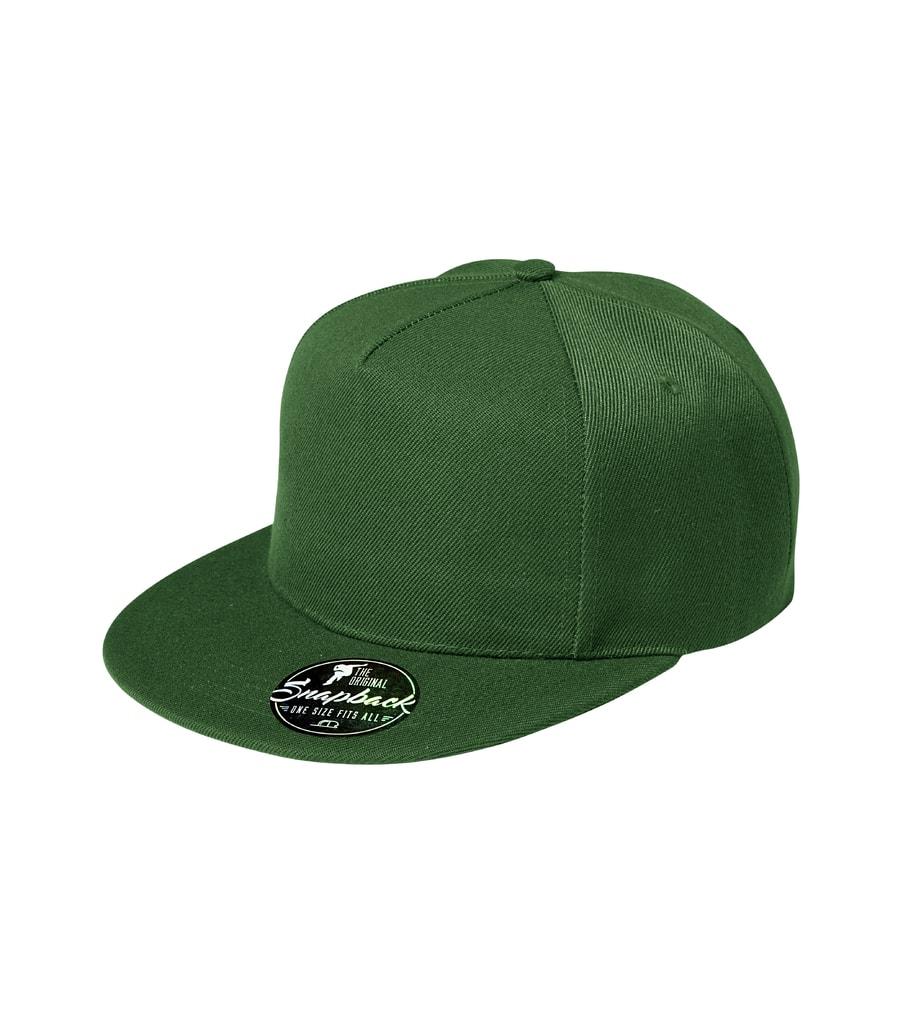 Kšiltovka Rap 5P - Lahvově zelená | uni