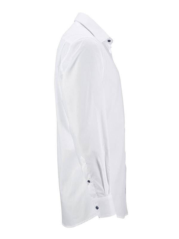 b9973ad26d5 Pánská bílá košile JN648 Bílo-červená