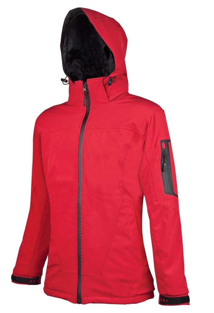 Dámská softshellová bunda Anima - Červená | XXL