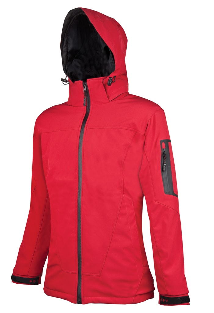 Dámská softshellová bunda Anima - Červená | XXXL